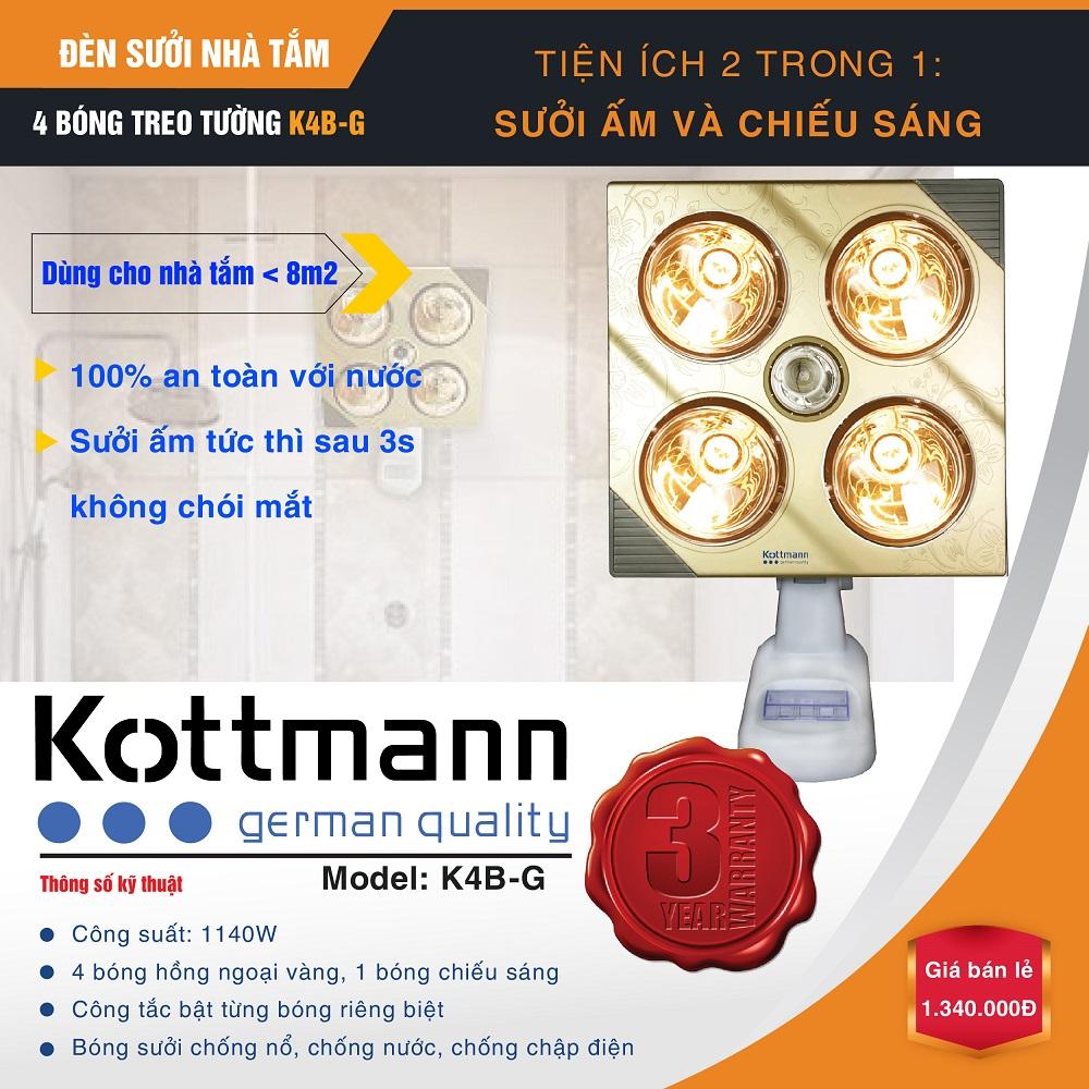 den-suoi-kottman-4-bong-treo-tuong-k4bg